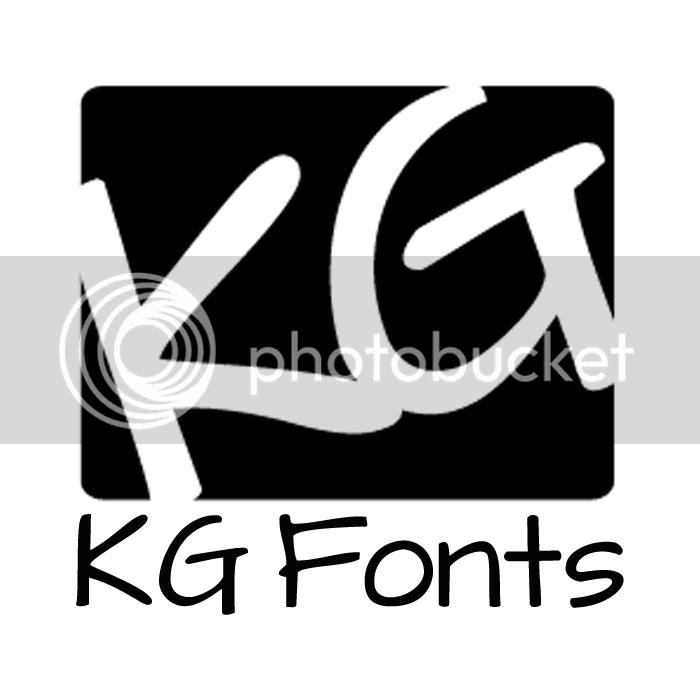 KG Fonts Rock