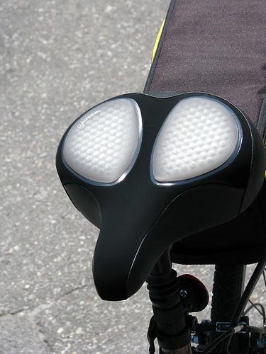 Ass protection bike seat ;-)