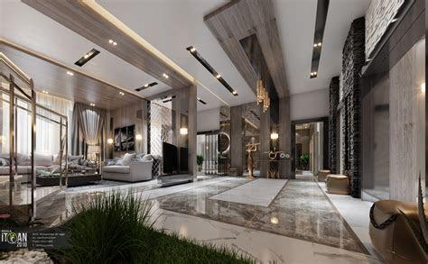 luxury living room main hall interior design villa