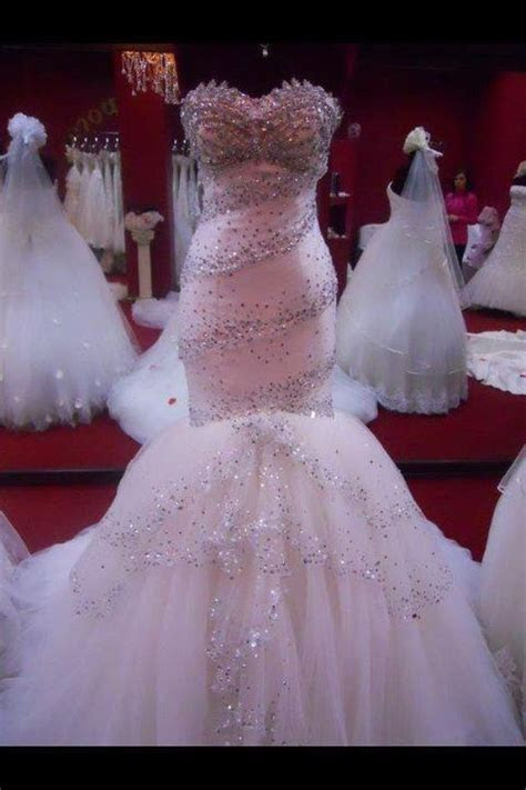 17 Best ideas about Bling Wedding Dresses on Pinterest
