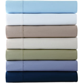 JCPenney - jcp home™ 300tc Easy Balance Solid Sheet Set customer ...
