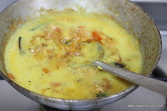 Add cooked dal