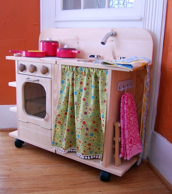 Living The Swell Life Diy Play Kitchen Inspiration