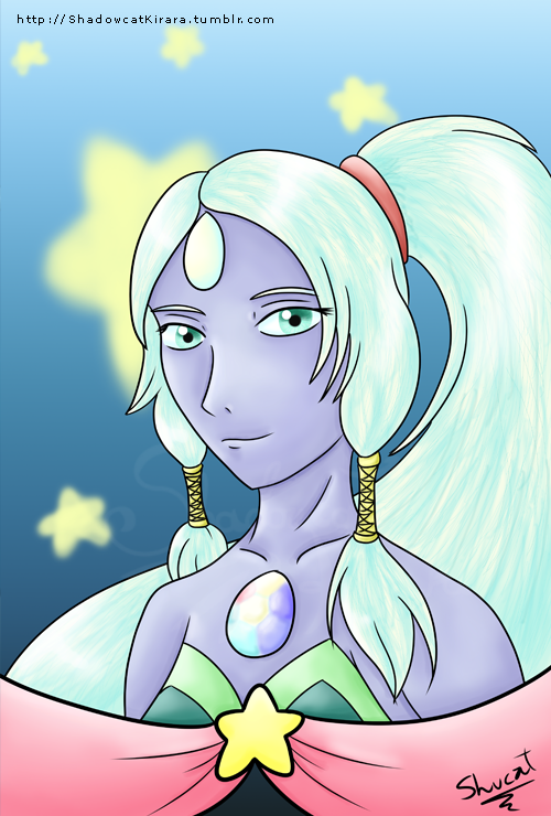 All I wanna do is see you turn into a giant woman, A giant woman! Opal, Steven Universe.