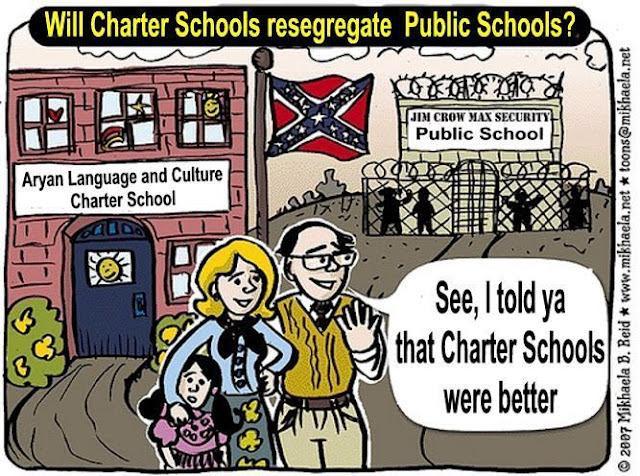 Image result for charter school segregation