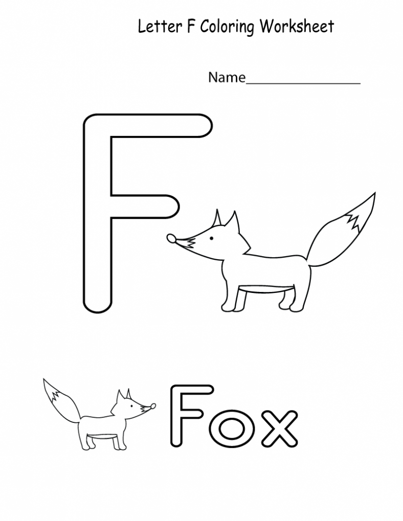 the letter f worksheets for kids 788x1019