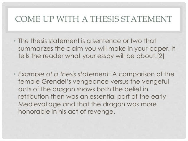 how to make a thesis statement for an analytical essay