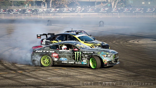Drifting Demo at Nitto Tire's Auto Enthusiast Day, presented by DrivingLine Angel Stadium, CA 1 August 2015