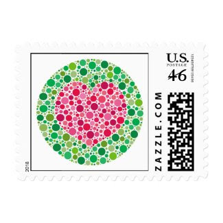 My Love is Colour Blind Stamp stamp