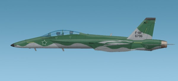 F-18 Super Hornet BRASIL cubierta