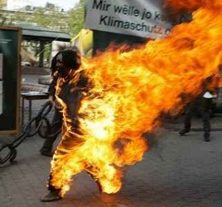 Monk sets fire to himself as Tibet protests spread