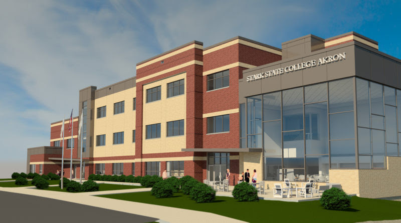 Construction Underway On New Akron Campus At Stark State School