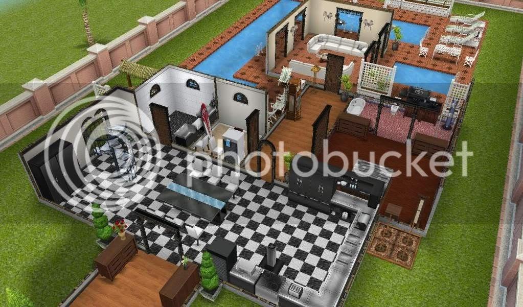 Sims freeplay portugu s casa do sim segunda mans o for Case the sims 3 arredate