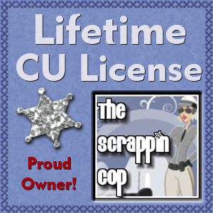 Scrappin Cop License