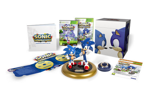 Sonic Generations Collector's Edition - UK X360