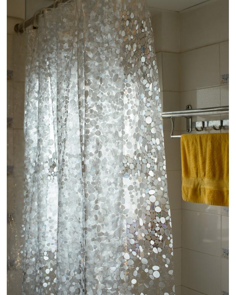 15 Elegant Bathroom Shower Curtain Ideas - Home And ...