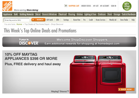 Does home depot take discover hello ross for 0 home depot credit card
