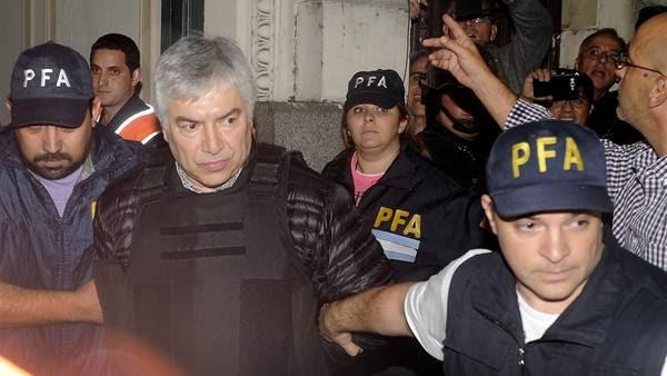 Lázaro Baez, detenido el 05-04-2016. Foto. Maxi Failla
