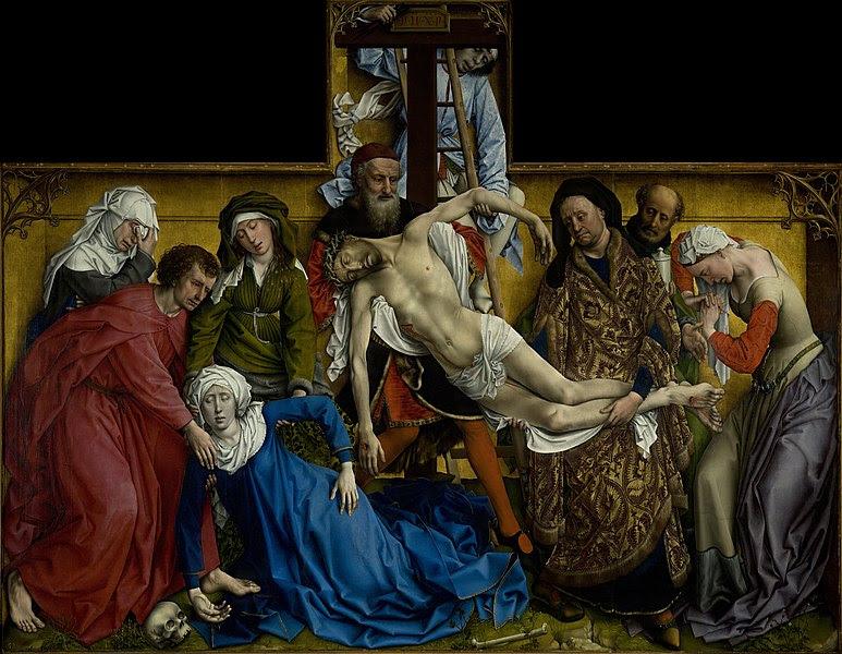 Archivo: El Descendimiento, de Rogier van der Weyden, del Prado en Google Earth.jpg