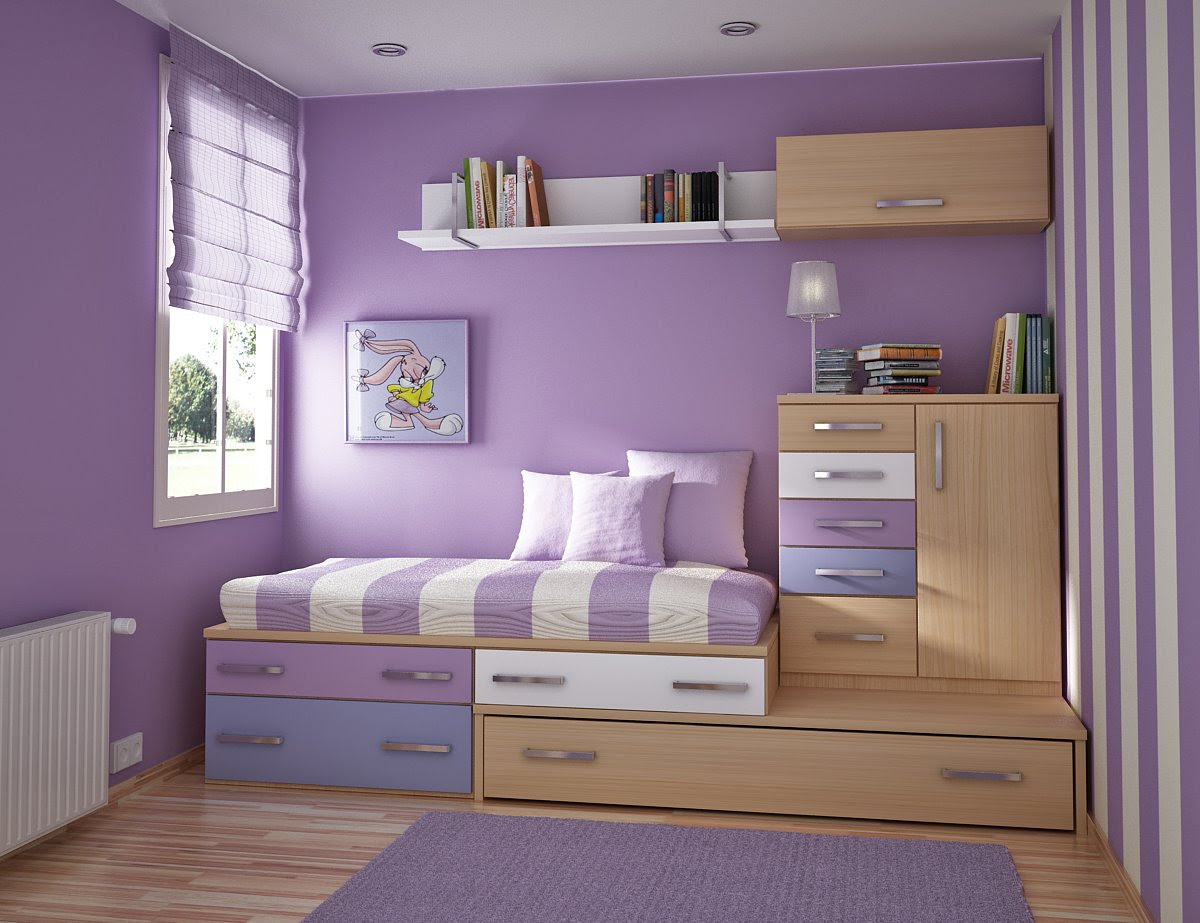 Kids bedroom decorating ideas - murals in girls bedroom decoration ...