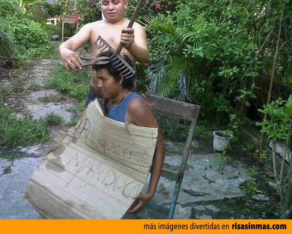 ¿Y tú te quejas de tu peluquería?