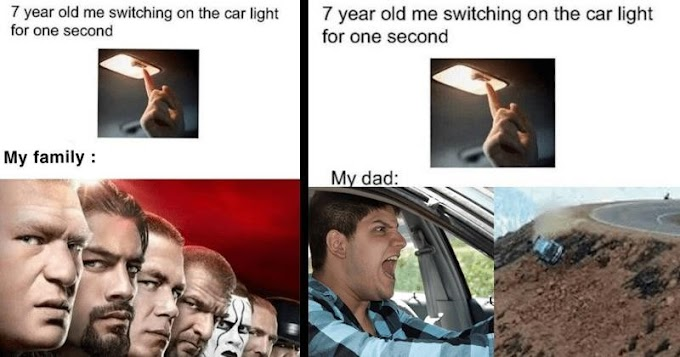These Super-Specific Memes Riff On The Perils Of Turning The Car Light On