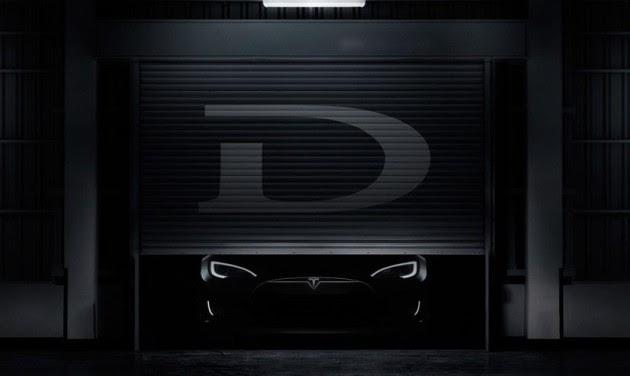 Tesla's 'D' teaser