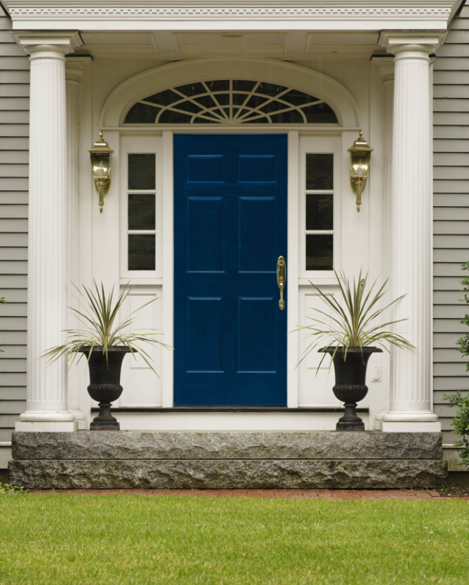 Blue Front Door Color