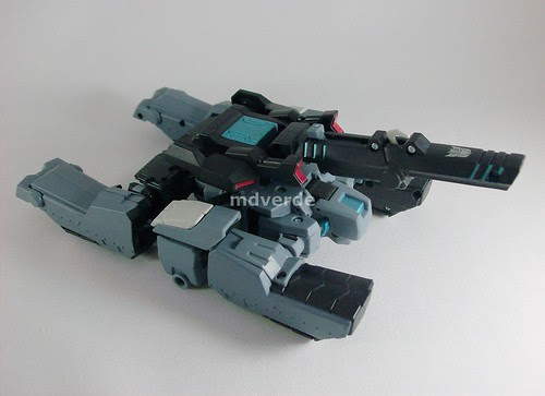 Transformers Shockwave Animated Voyager - modo tanque