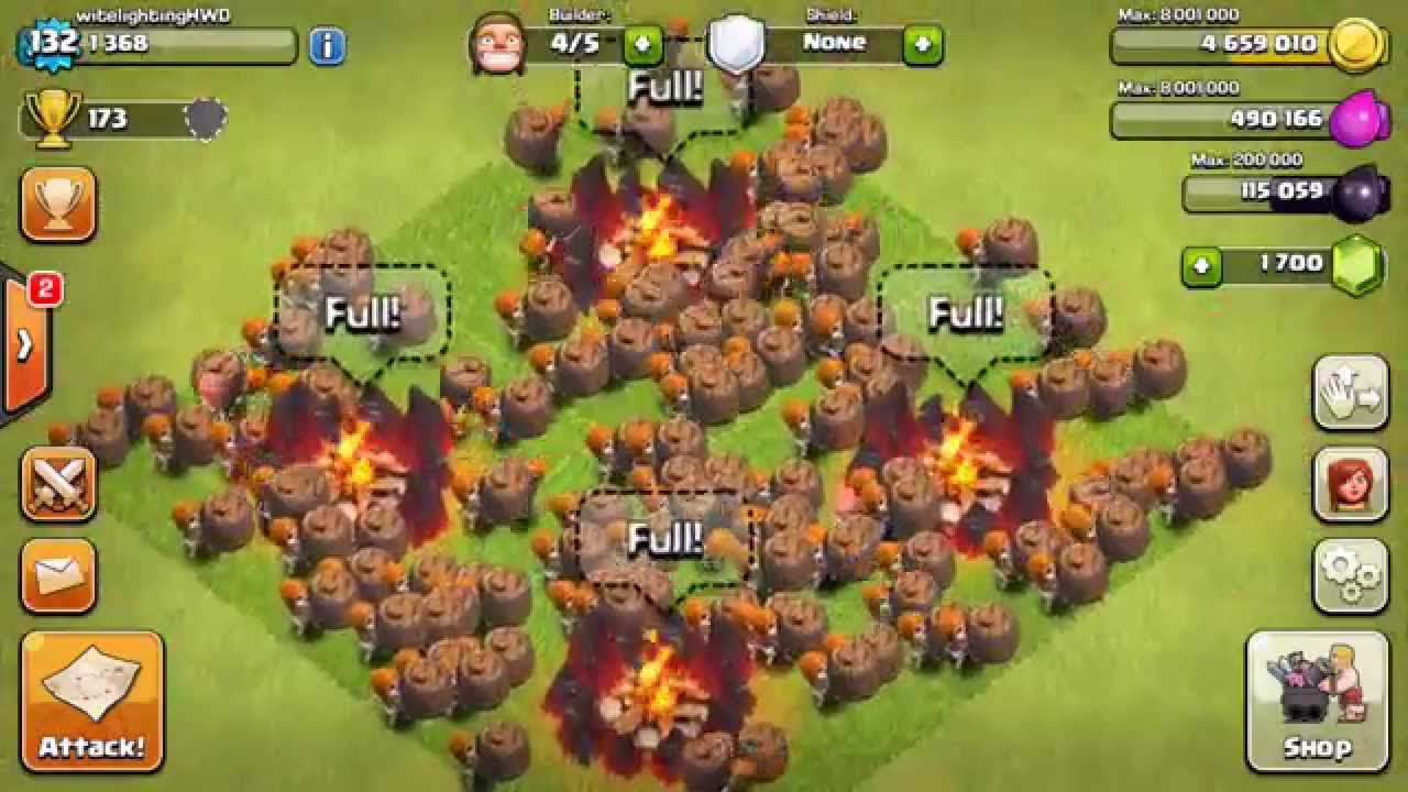 Clash Of Clans Wall Breaker Wallpaper Stores