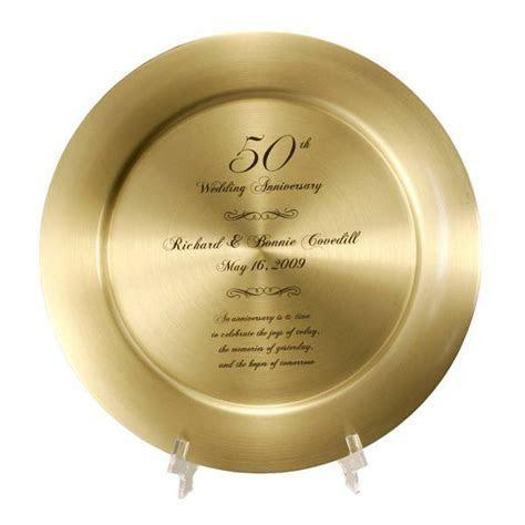 Impressive Personalized 50th Anniversary Solid Brass