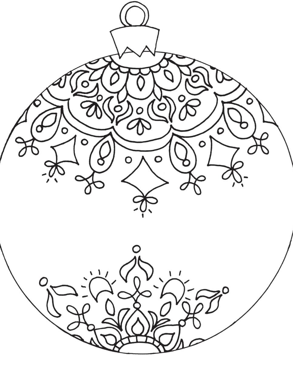 Free Printable Coloring Pages for Adults | DIY