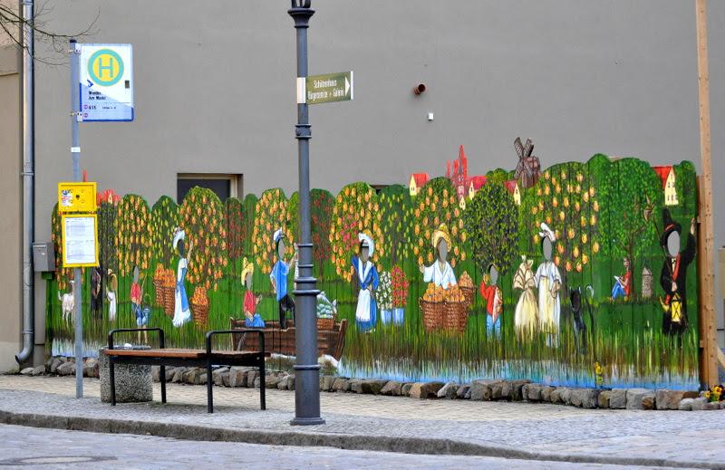 Bushaltestelle - Werder an der Havel
