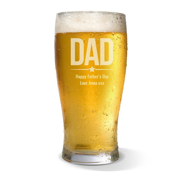 Dad Standard 425ml Beer Glass Bigw Photos