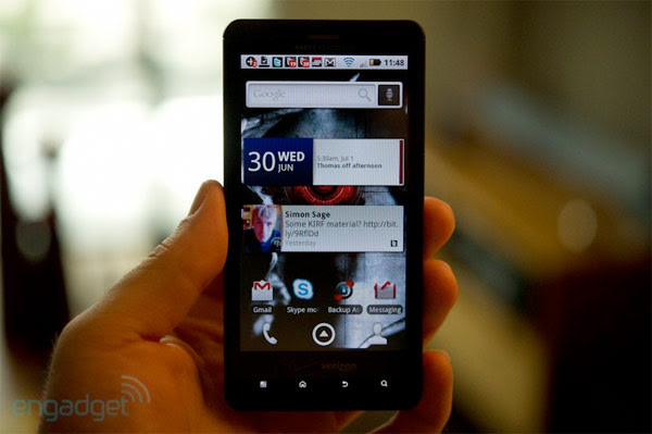 Motorola Droid X gets 1.2GHz software overclock for China, we feel slighted too