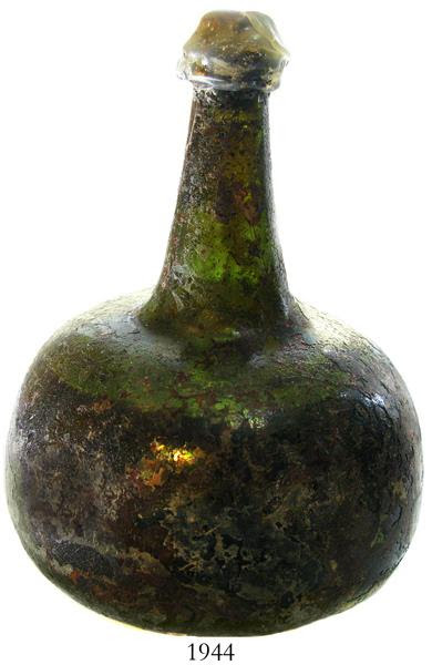 Onion Bottle With Original Wine Inside