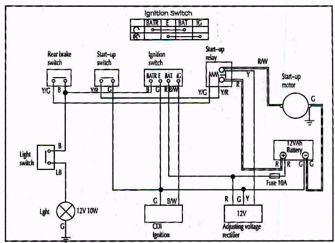 49cc Scooter Wiring Diagram One Way Car Alarm Wiring Diagram Begeboy Wiring Diagram Source