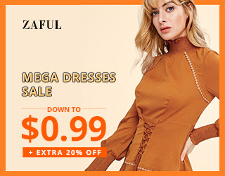 ZAFUL Mega Dresses Sale: Down to $0.99 + Extra 20% OFF