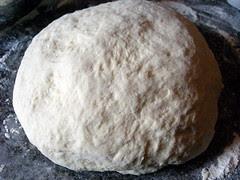 Unproofed dough