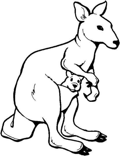 australian animals coloring pages