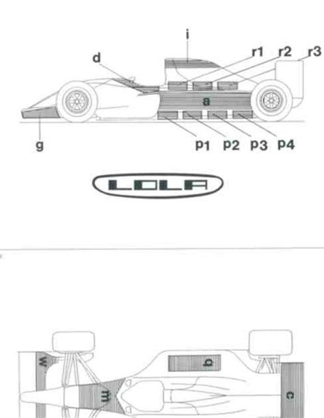 Scratchbuilding a 1/20 scale F1 replica: F1 car design in