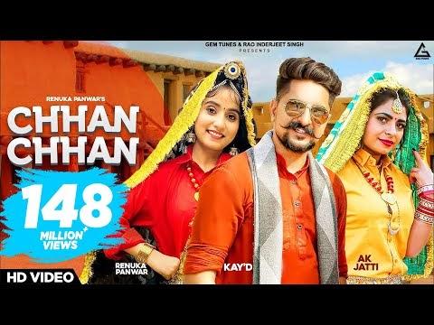 Chhan Chhan Lyrics - छन छन Renuka Panwar # New Haryanvi SongG