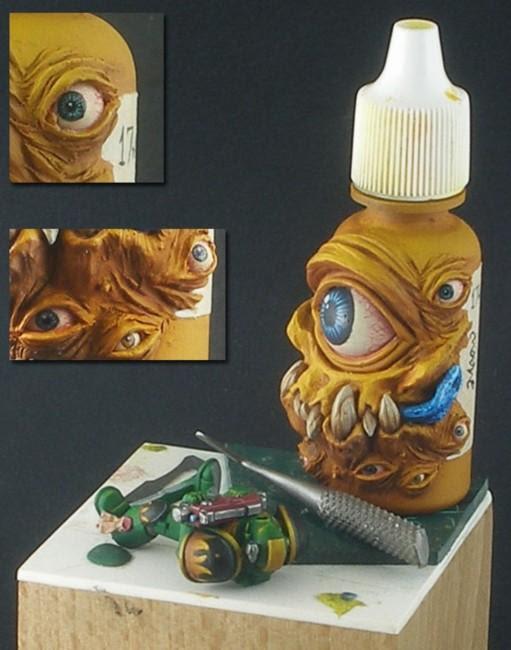 Retour - Monstropot peint par John Harrison, alias Darkmessiah