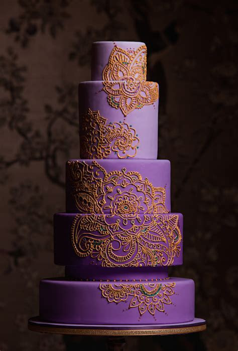 Mehndi Design Cake For Traditions Magazine   CakeCentral.com