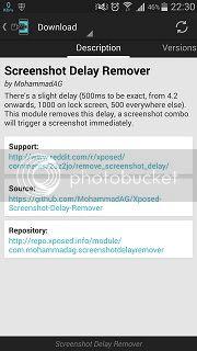 Menghilangkan Delay Screenshot