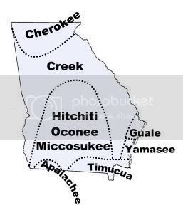 Native American Tribes of Georgia