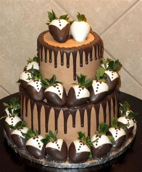 Traditional Grooms Cake   Chocolate on Chocolate With