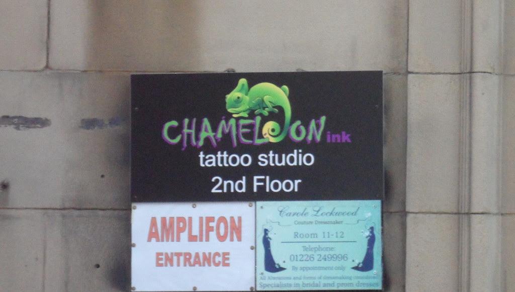 Chameleon Ink Tattoo