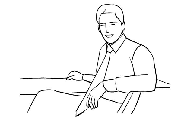 Позирование: позы для мужского портрета 13