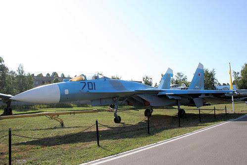 Sukhoi Su-35 701 black